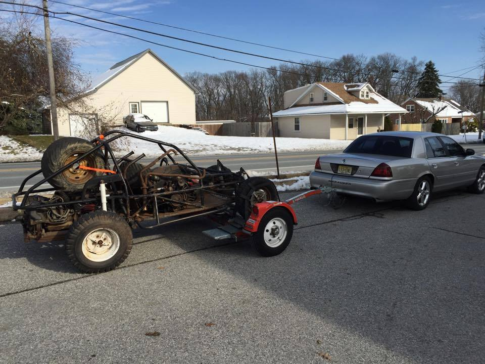 Sand rail autocross/skid pad build (or, why my wife hates me